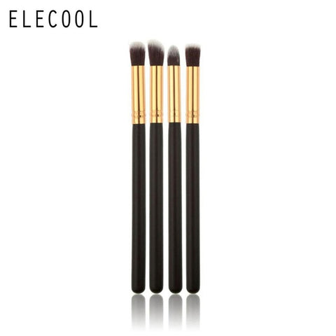 ELECOOL 4/1pcs/set Professional Eyeshadow Brushes Blending Eye Shadow Eyelash Pencil Brush Makeup Tool Top Quality for Women