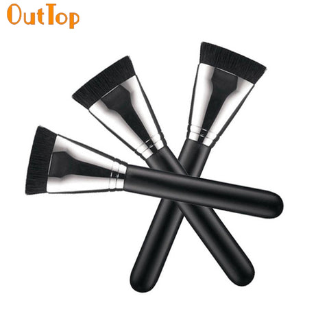 OutTop ColorWomen 1pcs Professional Cosmetic Flat Contour Brush Face Blend Makeup Brush 161104 Drop Shipping F30HW