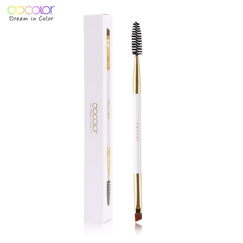 Docolor  Eyebrow Brush+Eyebrow Comb beauty eyebrow brush professional makeup brushes for eye Brow Brush blending eye