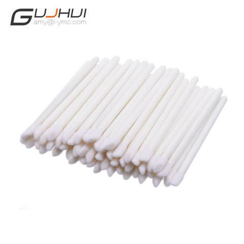 50 Pcs/pack Disposable Makeup Lip Brush Cleaning Pen Lipstick Mascara Wands Brush Clean Eyelash Cosmetic Brush maquillage  BTZ1