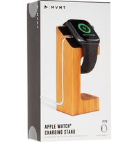 MVMT Bamboo Apple Watch Charging Stand