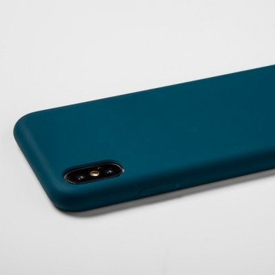 heyday™ Apple iPhone X/XS Silicone Case - Dark Teal