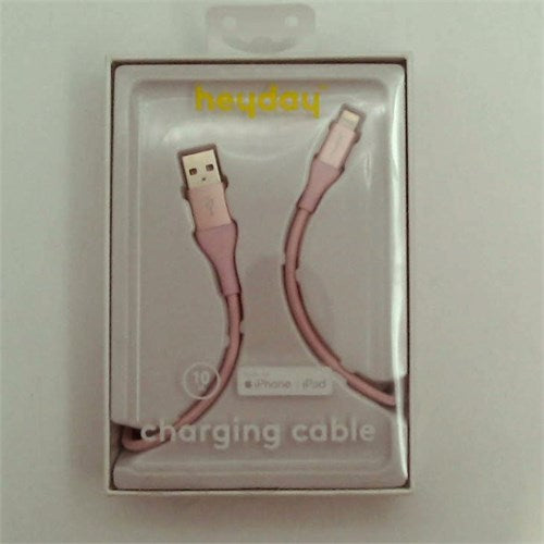 heyday™ Lightning to USB-A Braided Cable 10ft - Rose Gold