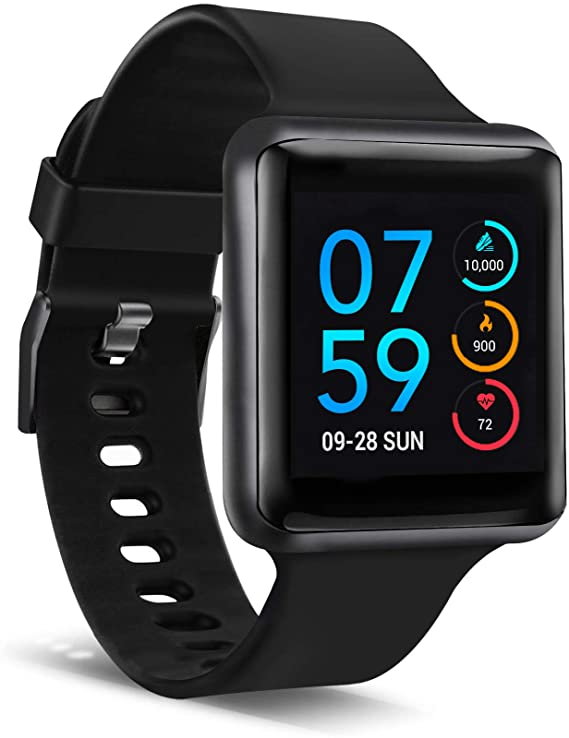 iTouch Air Special Edition Smartwatch - Black/Black