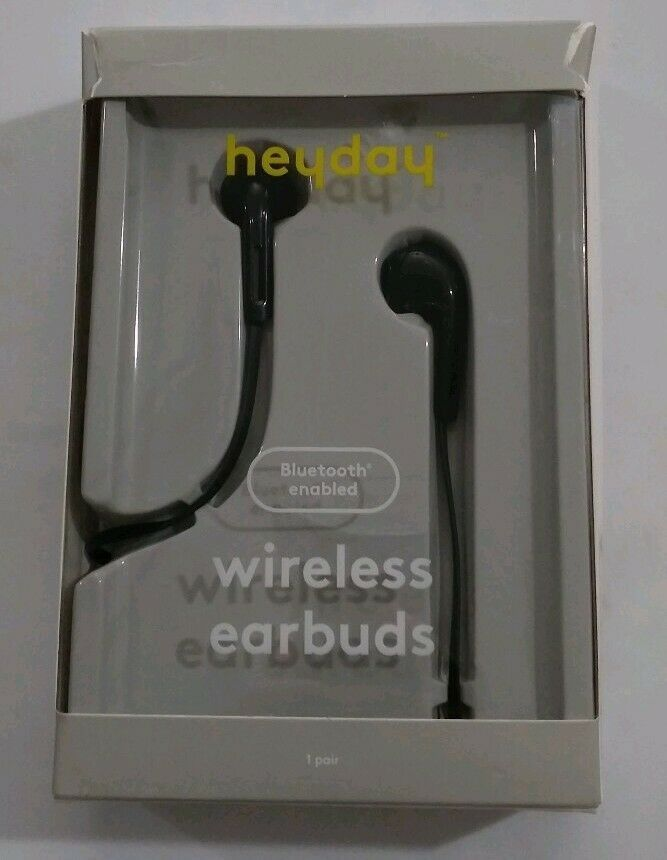 heyday™ Wireless Bluetooth Earbuds - Black