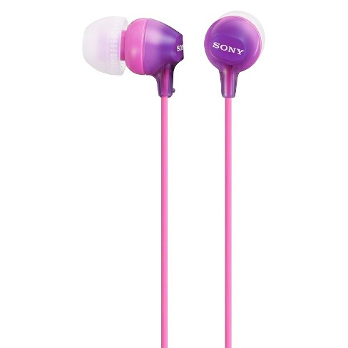 Sony Fashionable Wired Headset for Smartphones - Violet