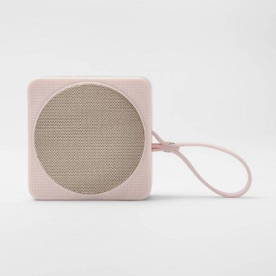 heyday™ Small Portable Bluetooth Speaker with Loop - Pink