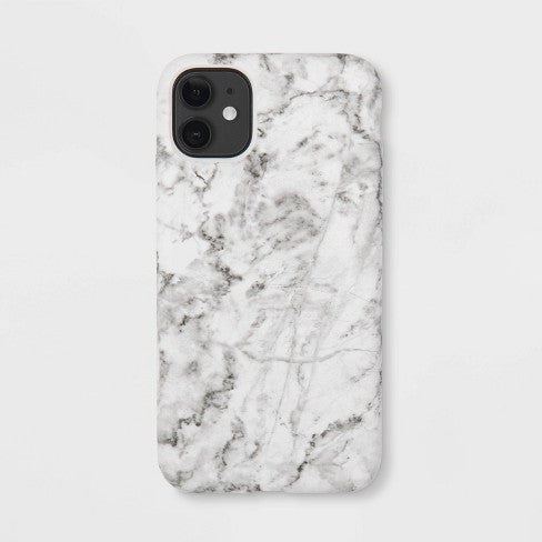 heyday™ Apple iPhone 11 Case - White Marble