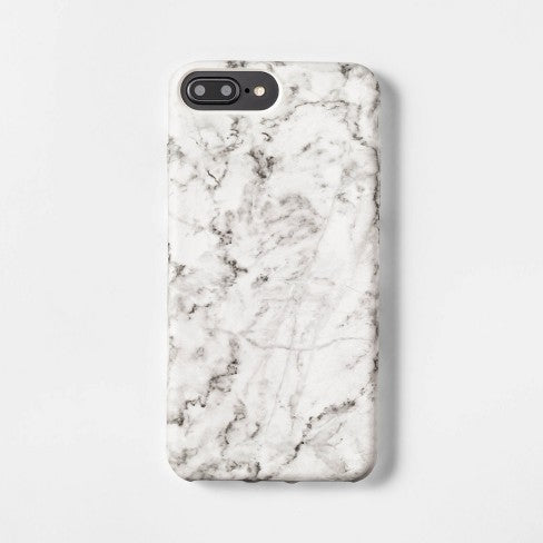 heyday™ Apple iPhone 8 Plus/7 Plus/6s Plus/6 Plus Case - White Marble