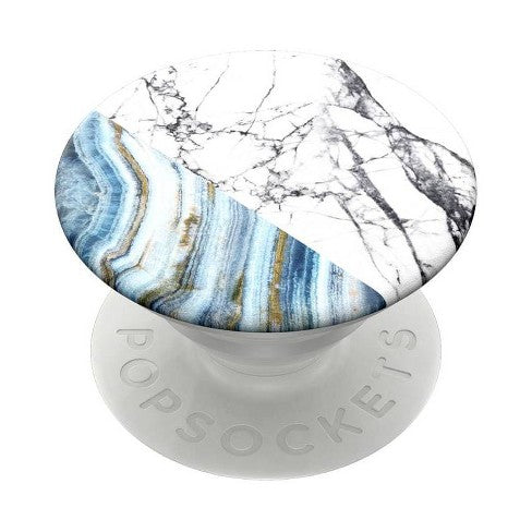 PopSockets Marble PopGrip Cell Phone Grip & Stand - Aegean