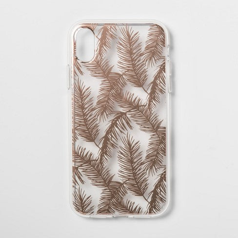 HEYDAY CASE XR ROSE GOLD FEATHERS