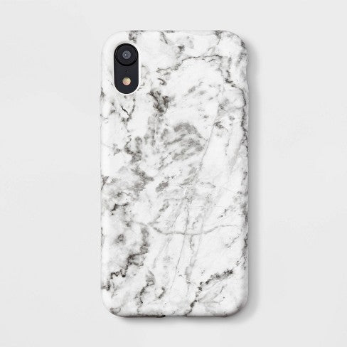 heyday™ Apple iPhone XR Case - White Marble