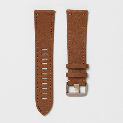 heyday™ Fitbit Versa Band - Brown Leather