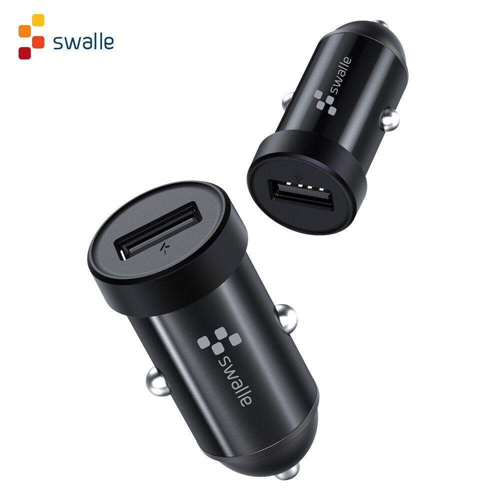 CHARGERS 2A CAR CHARGER BLACK