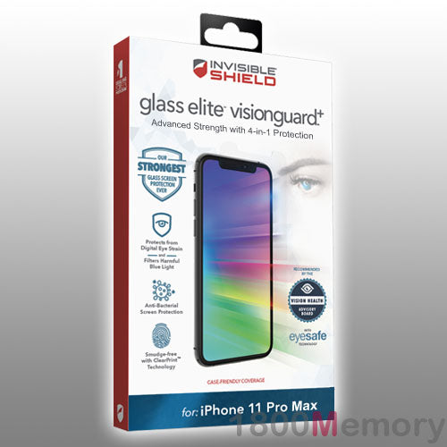 ZAGG Apple iPhone XS Max InvisibleShield Glass Elite Screen Protector
