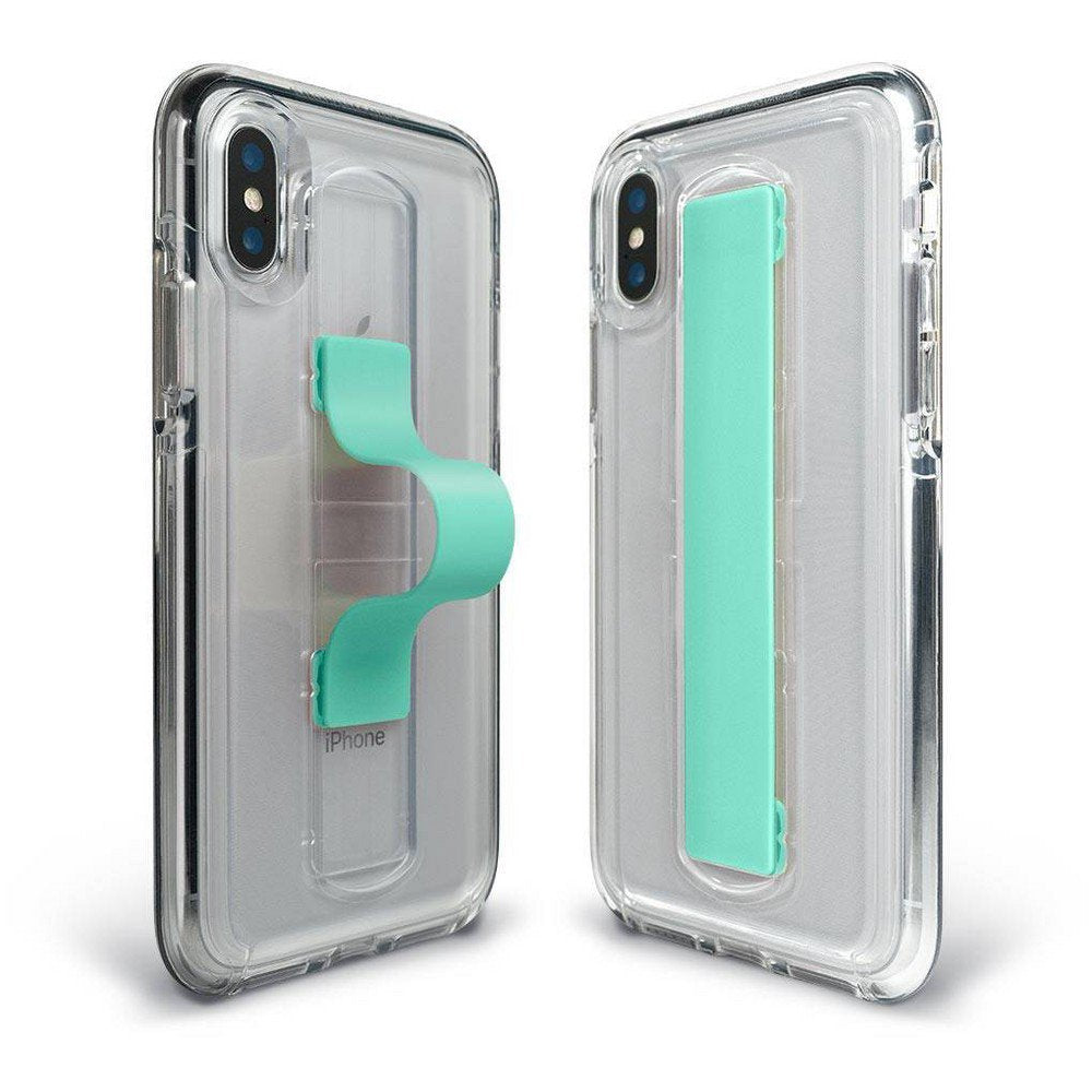 BodyGuardz Apple iPhone XS Max SlideVue Case - Clear/Mint