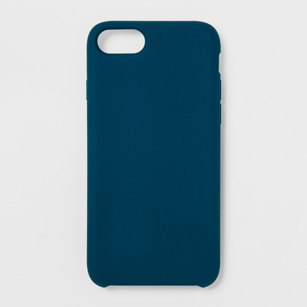 Heyday™ Apple iPhone 8/7/6s/6 Silicone Case - Dark Teal