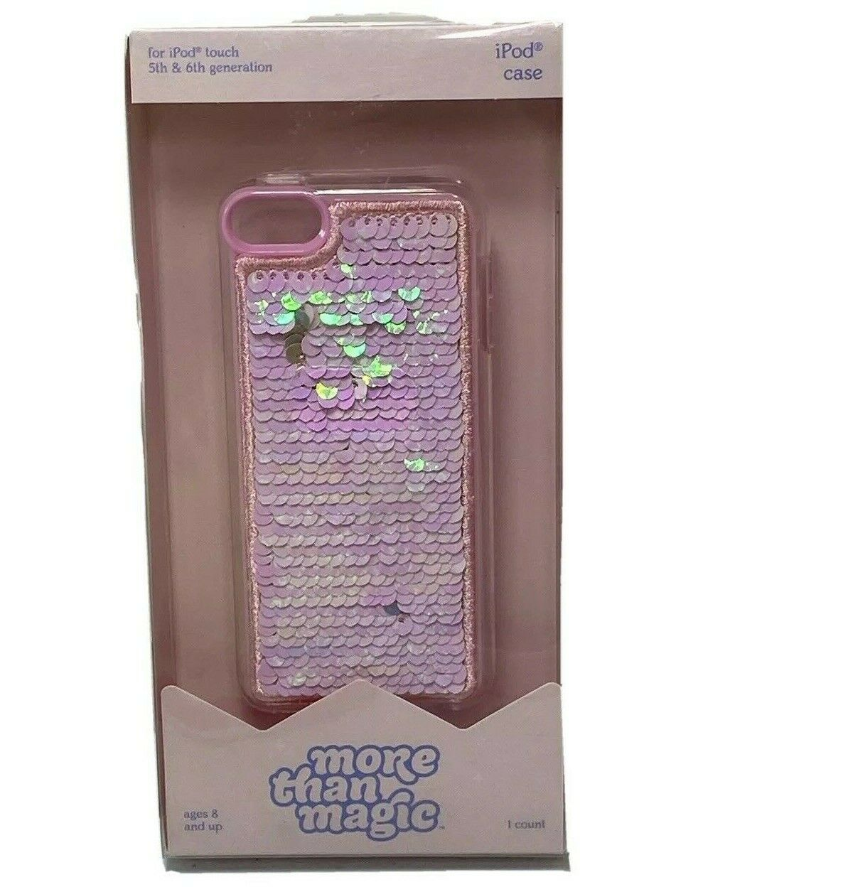 Apple iPod Touch 5th/6th Generation Flip Sequin Case - More Than Magic™ - Pink/Gold