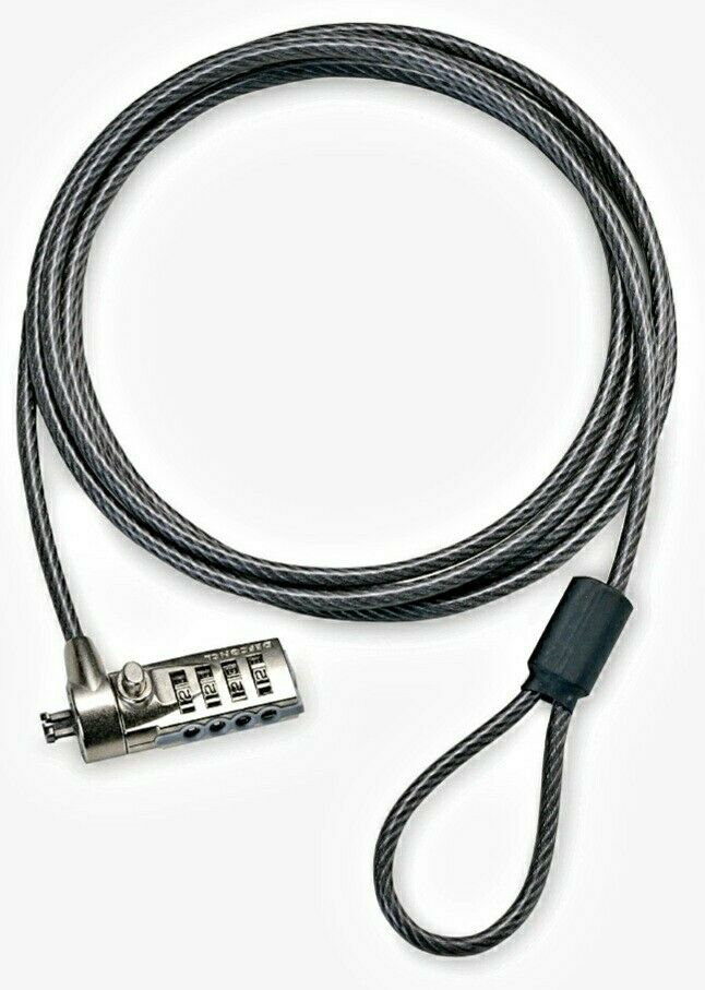 Targus Defcon CL Notebook Laptop Cable Combo Lock (NEW)