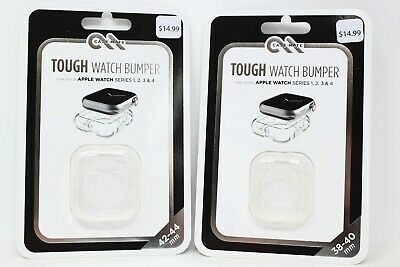 Case-Mate Tough Apple Watch Bumper 42-44mm - Clear