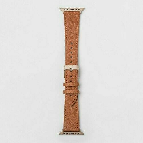 Heyday™ Apple Watch 42mm Leather Band - Brown