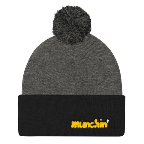 munchin' Beanie (Black/Gray)