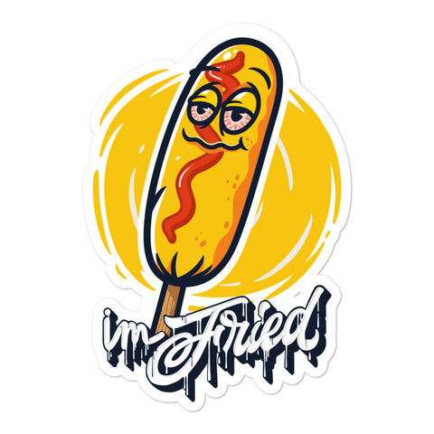 Im Fried Corndog Sticker