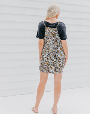 Pinafore - Animal Print