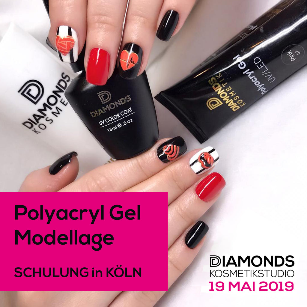 Nageldesign Schulung POLYGEL in Köln