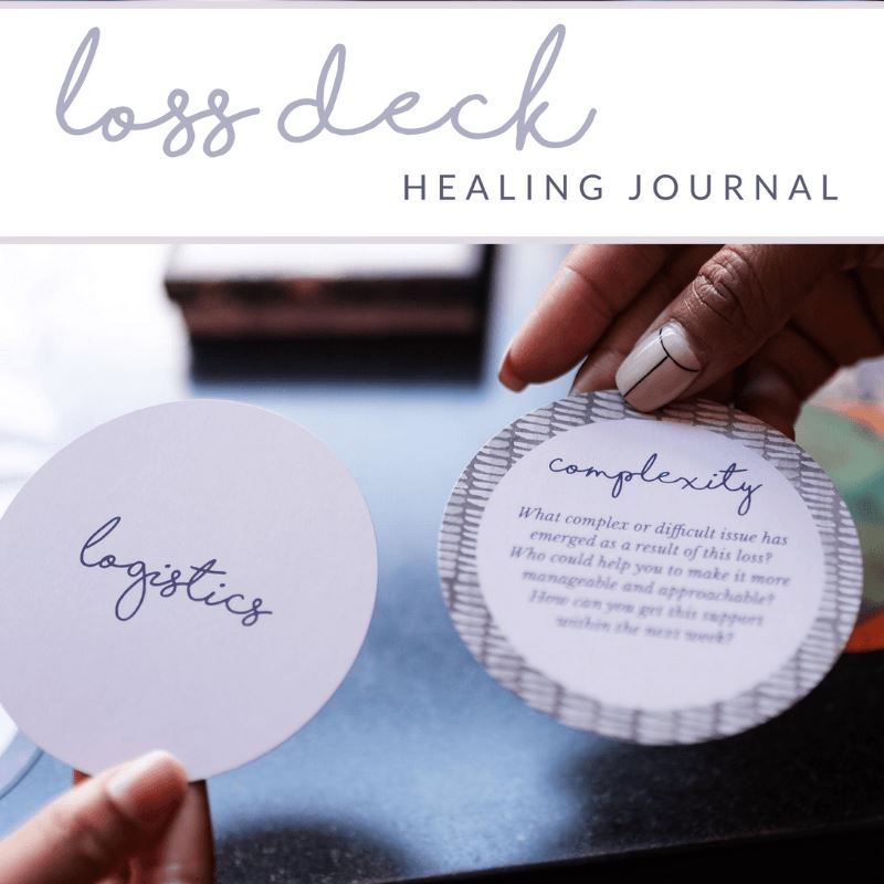 Loss Deck Healing Journal Digital Product Girls Gone Happy