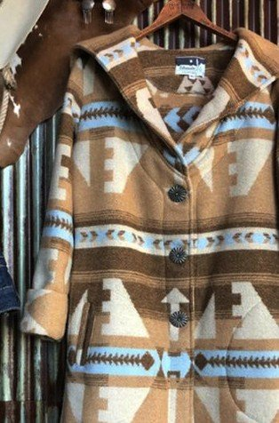 Brown Casual Cotton-Blend Outerwear