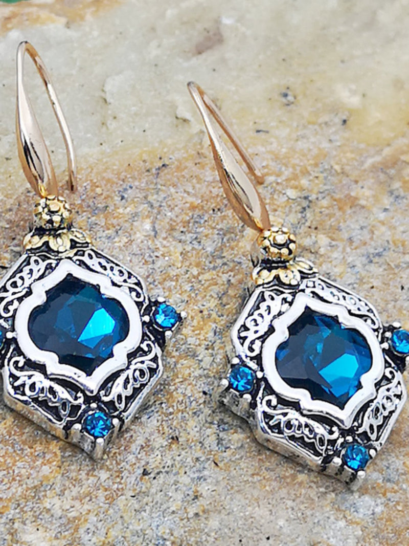 Vintage Gorgeous Turquoise Earrings