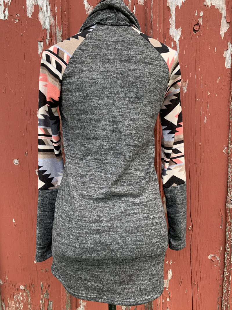 Casual Printed Long Sleeve Shirts & Tops