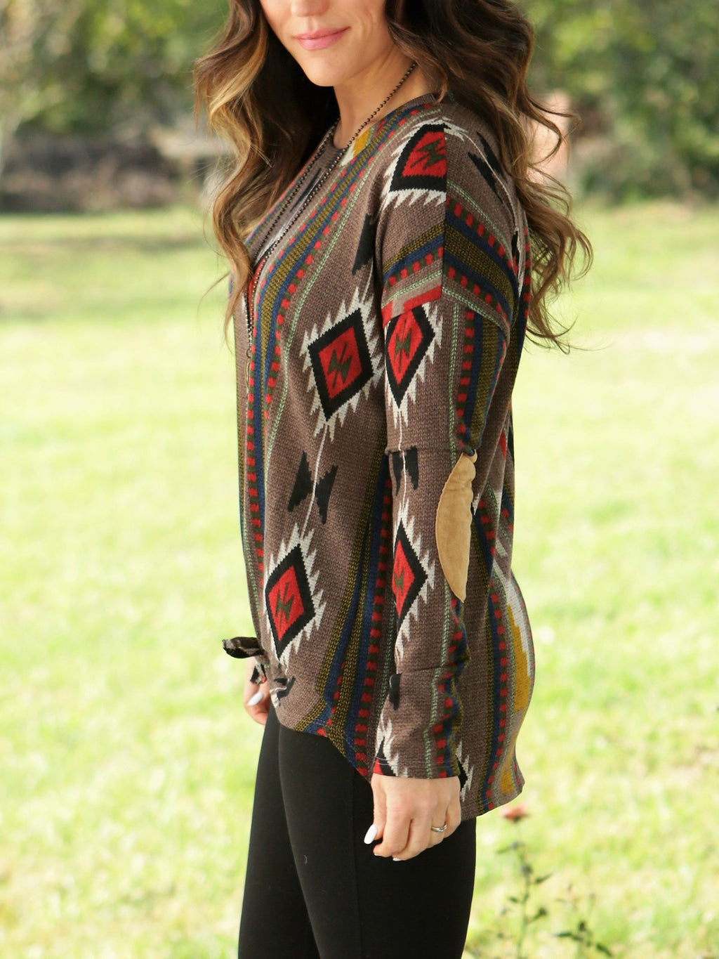 Women's  Casual Vintage Geometric Shirts & Tops