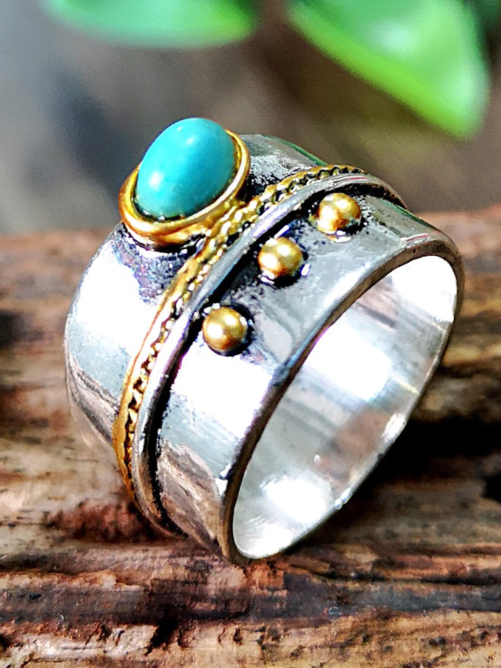 Vintage Turquoise Ring