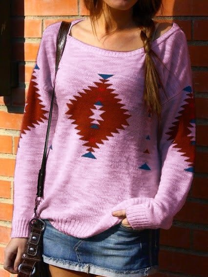 Knitted Casual Long Sleeve Knitwear Hoodies