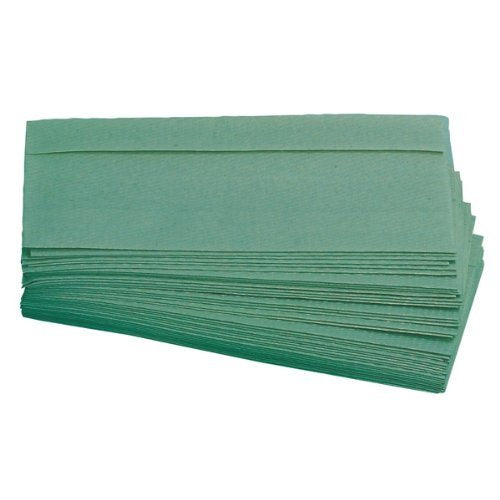 Envirotex Multifold 1 Ply Green Paper Towels Pack of 2 - nappyworlduk