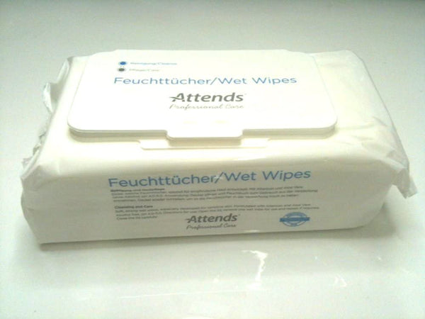 Attends Wet Wipes - nappyworlduk