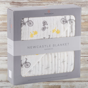 VINTAGE BIKE BABY/TODDLER BLANKET