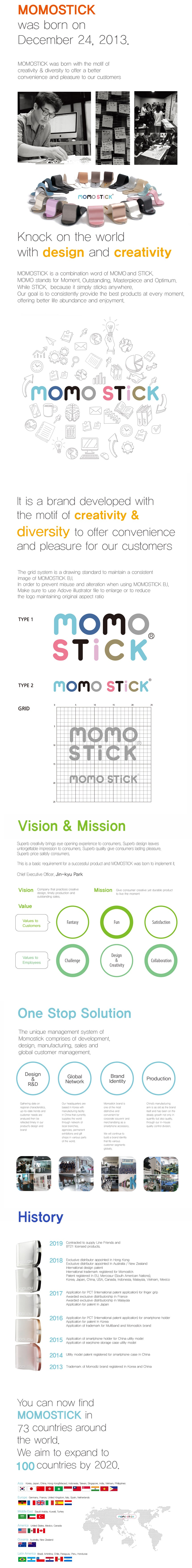 About us - Momostick