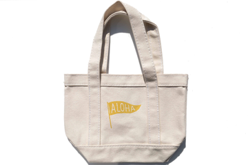 Mini Tote Bag (Yellow)