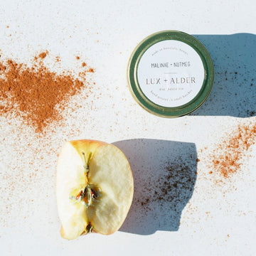 Petite Tins: Cloves + Cassia, Malinae + Nutmeg, Timber + Resin
