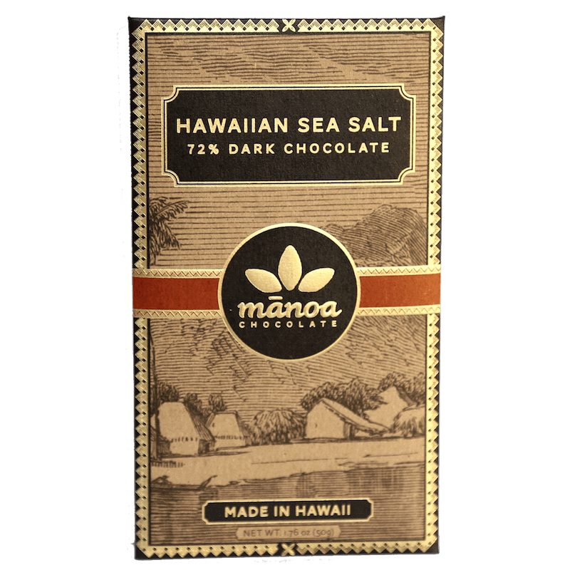 Hawaiian Sea Salt Bar 72%