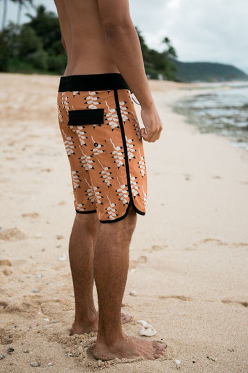 Men's Mountain Flower Boardshort