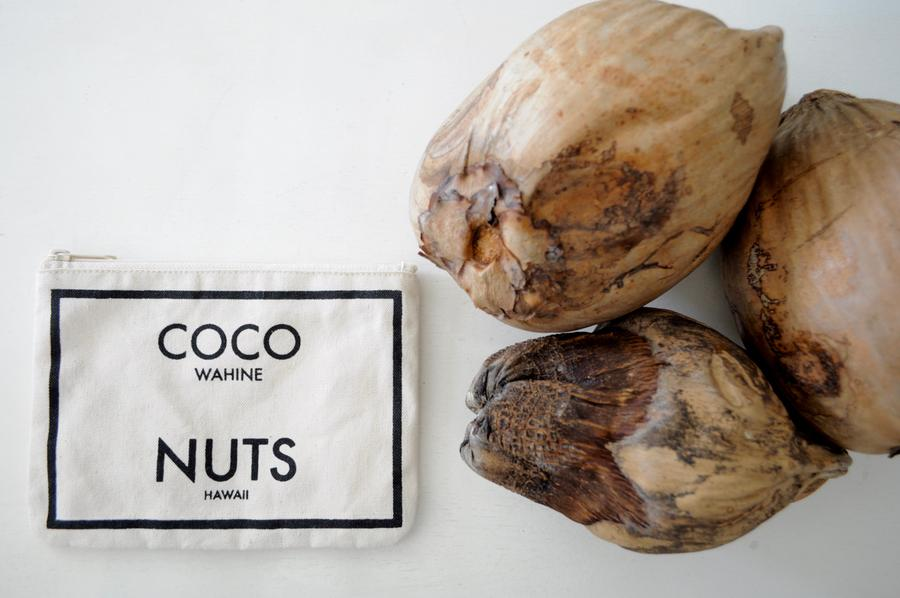 Coco Nuts - Small Clutch Natural