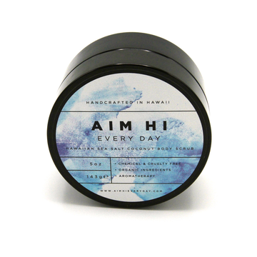 Hawaiian Sea Salt Cocounut Body Scrub 143g