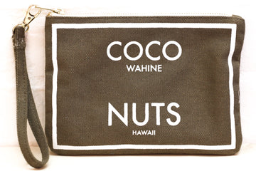 Coco Nuts - Small Clutch Olive