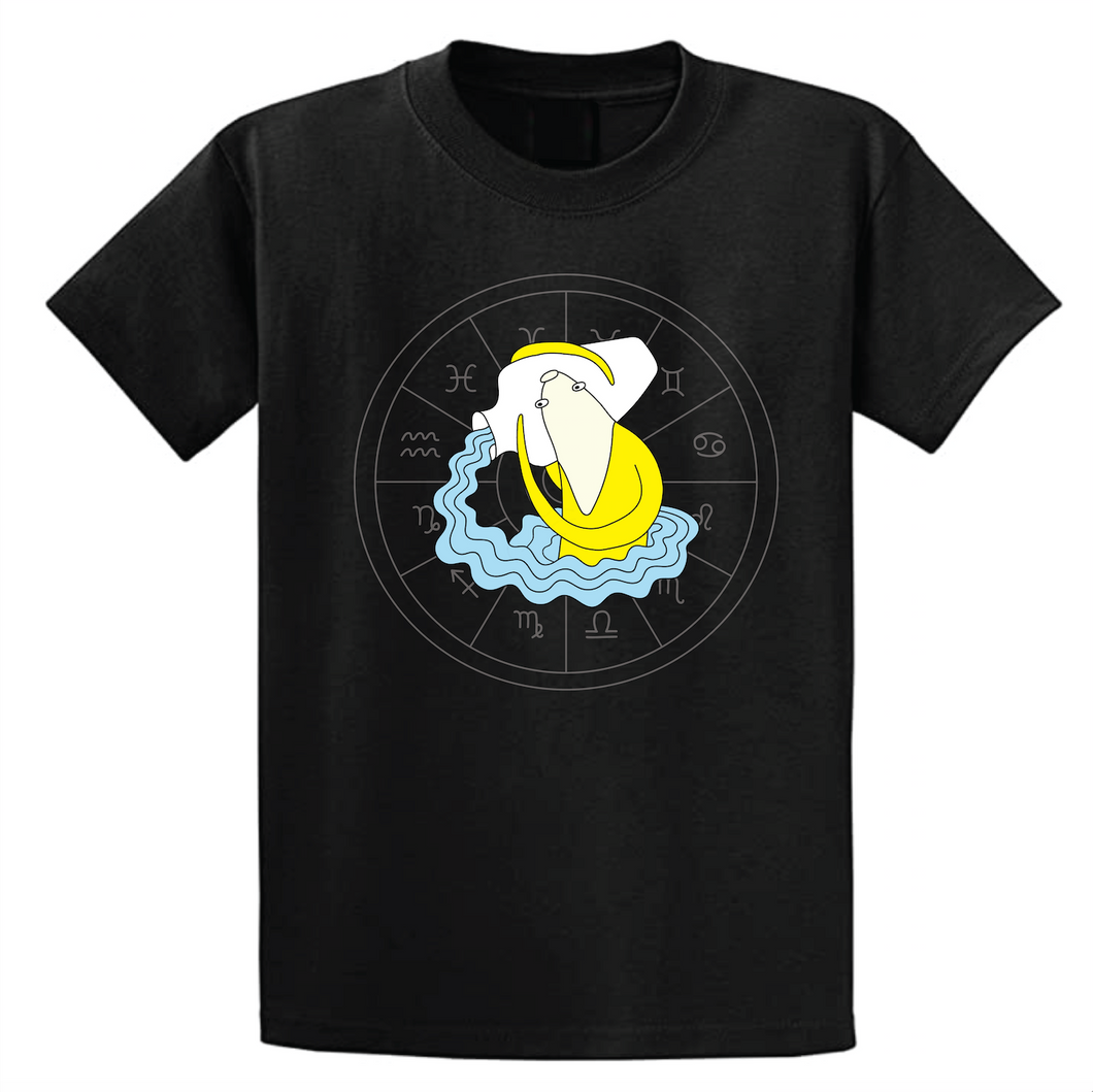 Banana Zodiac: Aquarius T-shirt