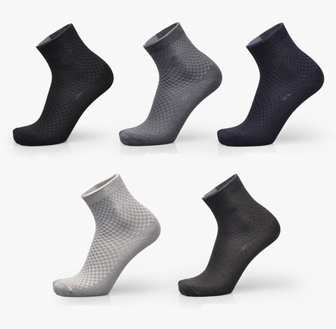 Business/Casual Bamboo Fibre Socks (5-pack) - Univia