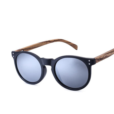 Wooden Designer Polarized Sunglasses Men - Univia